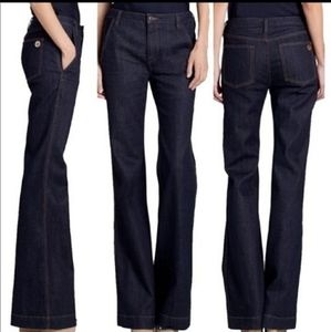 NWT TORY BURCH HIGH WAISTED FLARE JEANS.SIZE 29